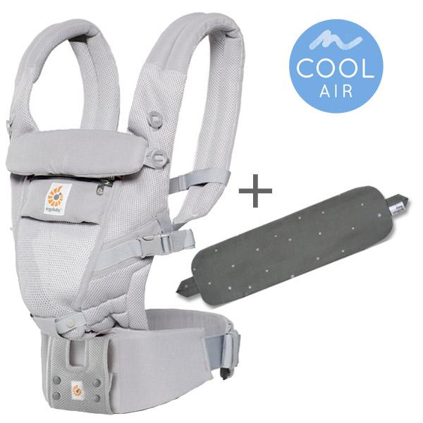 ADAPT クールエアグレー/ストライプ専用カバーセット