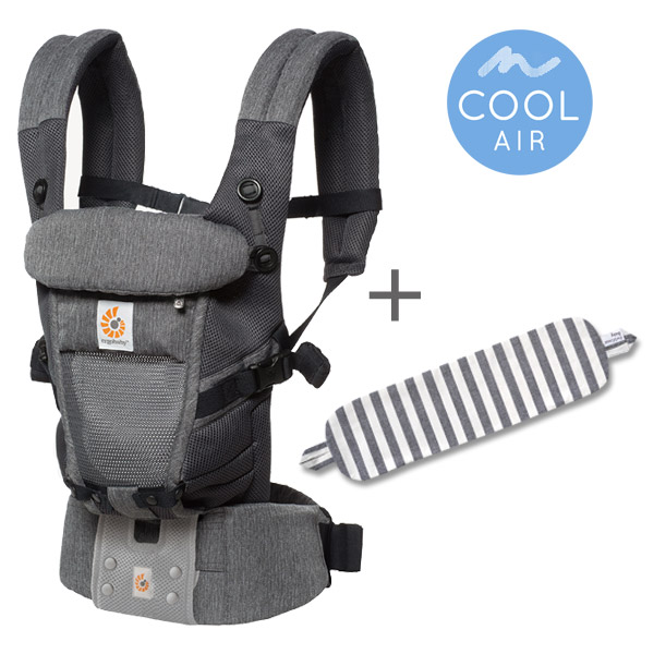EErgoBabyCarrier アダプト クールエア クラシックウィーブ 専用カバーセット