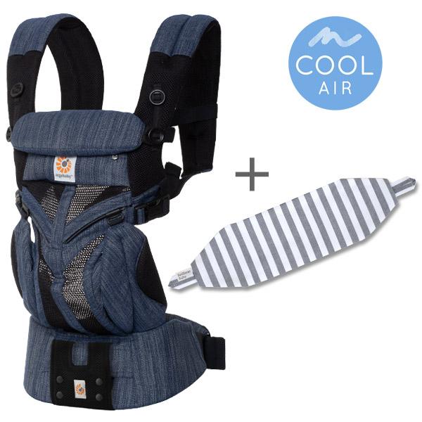 OMNI360 クールエア インディゴブルー専用カバーセット